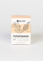 Гепатобиол – семена расторопши + экстракт овса, капсулы 90 шт.